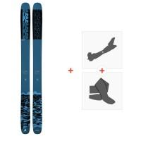 Ski K2 Reckoner 122 2021 + Fixations de ski randonnée + Peaux38640