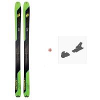 Ski K2 Wayback 88 2021 + Fixations de ski38639