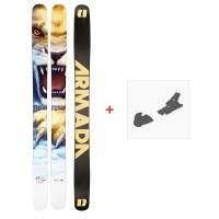 Ski Armada Magic J 2021 + Fixations de ski38681