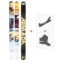 Ski Armada Magic J 2021 + Fixations de ski randonnée + Peaux38681