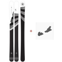 Ski Armada Victa 83 2021 + Fixations de ski38686