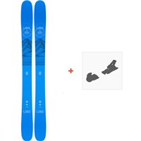 Ski Line Sir Francis Bacon Shorty 2021 + Fixations de ski38466