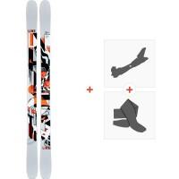 Ski Line Tom Wallisch Shorty 2021 + Fixations de ski randonnée + Peaux38468