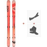 Ski Roxy Shima 98 2021 + Fixations de ski randonnée + Peaux38792