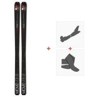 Ski Movement Race Pro 66 Soft 2021 + Fixations de ski randonnée + Peaux36399