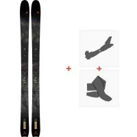 Ski Dynastar M-Vertical 88 2021 + Fixations de ski randonnée + Peaux34898