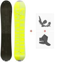 Splitboard Salomon Hps -Taka 2021 + Fixations de splitboard + Peaux37669
