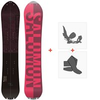 Splitboard Salomon Pillow Talk 2021 + Fixations de splitboard + Peaux37680
