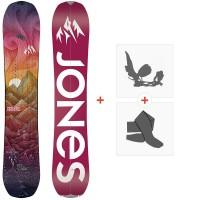 Splitboard Jones Dream Catcher 2021 + Splitboard Bindungen + Felle36263