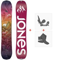 Splitboard Jones Dream Catcher 2021 + Fixations de splitboard + Peaux36263