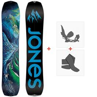 Splitboard Jones Youth Solution 2021 + Fixations de splitboard + Peaux36276