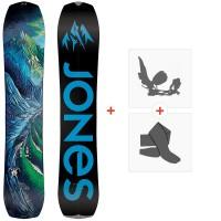 Splitboard Jones Youth Solution 2021 + Splitboard Bindungen + Felle36276