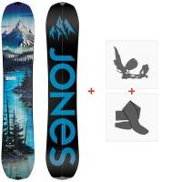 Splitboards Jones Frontier 2021 + Fixations de splitboard + Peaux36248