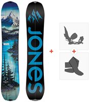 Splitboards Jones Frontier 2021 + Splitboard Bindungen + Felle36248