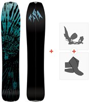 Splitboards Jones Mind Expander 2021 + Fixations de splitboard + Peaux36242