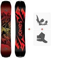 Splitboards Jones Mountain Twin 2021 + Fixations de splitboard + Peaux36246
