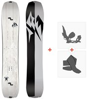 Splitboards Jones Solution 2021 + Splitboard Bindungen + Felle36243