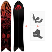Splitboards Jones Storm Chaser 2021 + Splitboard Bindungen + Felle36244