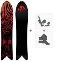 Splitboards Jones Storm Chaser 2021 + Fixations de splitboard + Peaux36244