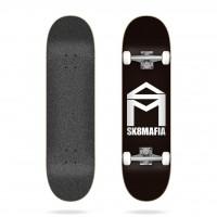 "Skateboard Sk8Mafia House Logo Black 7.75"" - Complete 2020"