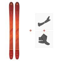 Ski Blizzard Cochise Team Flat 2021 + Fixations de ski randonnée + Peaux40725