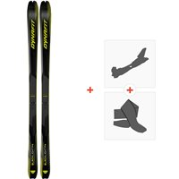Ski Dynafit Blacklight 74 2021 + Fixations de ski randonnée + Peaux40604