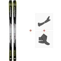 Ski Dynafit Mezzalama 2021 + Fixations de ski randonnée + Peaux41519