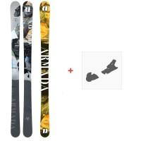 Ski Armada ARV 84 2021 + Fixations de ski
