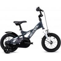 Scool XXlite Steel 12 Gray White Komplettes Fahrrad 2020