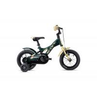 Scool XXlite Alloy 12 Olive Camouflage Matt Komplettes Fahrrad 2020