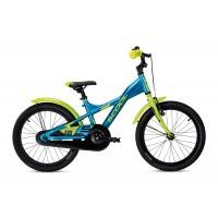 Scool XXlite alloy 18 Blue Lemon Metalic Komplettes Fahrrad 2020