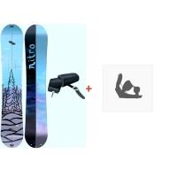 Splitboard Nitro Volta Set 2021 + Fixations de splitboard + Peaux40787