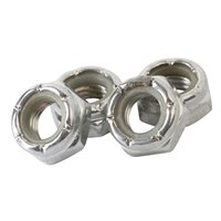 Enuff Skateboards Wheel Lock Nuts Silver 2020