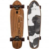 Skateboard Globe Big Blazer 32'' - RoseWood / Cowprint - Complete 2021