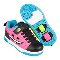 Heelys Chaussures Dual Up X2 Black/Hot Pink/Cyan/Yellow 2021