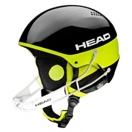 Skihelm Head Stivot Youth Sl + Chinguard Black 2017328204