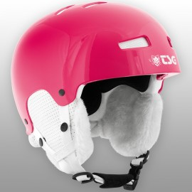 Casque de Ski TSG Lotus Solid Solor Gloss RubinE790700RU