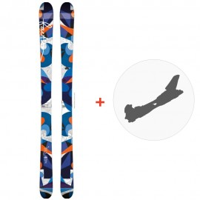 Ski Faction Heroine 2015 + Fixations
