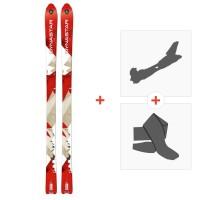Ski Dynastar Cham Alti 79 2014 + Tourenbindung + FelleDACL101