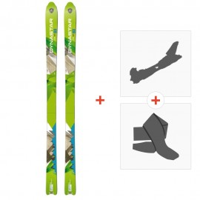 Ski Dynastar Cham Alti 83 2014 + Tourenbindung + FelleDACLQ01