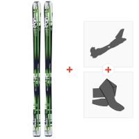 Ski Elan Alaska Pro 2014 + Fixations randonnée + Peau