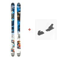 Ski Faction Ambit 2015 + ski bindings