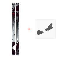 Ski Coreupt The Caspers 2012 + ski bindings