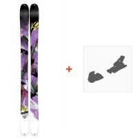 Ski K2 Remedy 92 2015 + Skibindungen