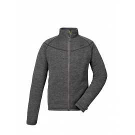 Veste Pyua Escape-Y Full Zip Fleece Grey Melange