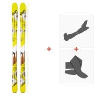 Skis Elan Lhotse 2016 + Tourenbindung + Felle