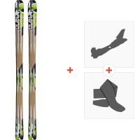 Ski Elan Alaska 2013 + Fixations randonnée + Peau