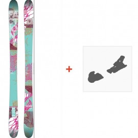 Ski Faction Ambit 2014 + Fixation de ski