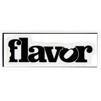 Flavor Sticker