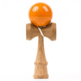 Kendama Krom Deluxe V2 Red OAK Orange